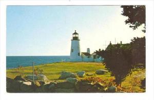 LIGHTHOUSE , Pemaquid , Maine, 40-60s