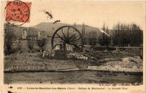 CPA LONS le SAUNIER Salines de MONTMOROT La Grande Rue (447322)