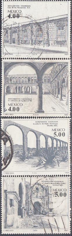 Mexico #1260-1263 Used