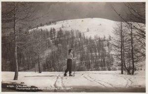 RP: VALBERG , Promenade vers latete du Sapet , Snow Skiing , 19147 ; France