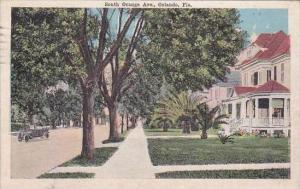 Florida Orlando South Orange Avenue 1919