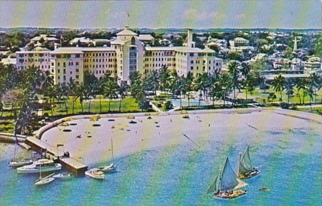 Bahamas Nassau Sheraton-British Colonial Hotel 1964