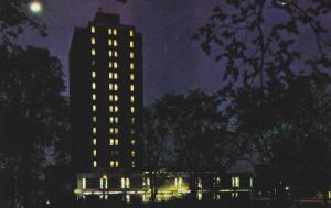 Night view,  YM-YWCA,  Ottawa,   Canada,  PU_1972