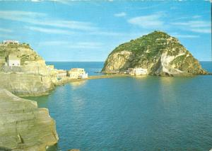 Italy, Ischia, St. Angel, The Castle, 1963 used Postcard