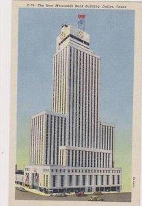 Texas Dallas The New Mercantile Bank Building