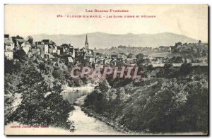 Old Postcard Oloron Ste Marie The Aspe Gaves D And D Oloron