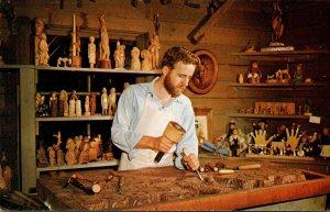Missouri Branson Peter Engler Founder Of Ozark Mountain Woodcarvers Guild