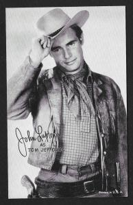 ARCADE CARD Cowboy Entertainer John Lupton