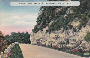 New York Greetings From Wurtsboro Hills