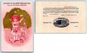 LOT/12 VICTORIAN TRADE CARDS ADVERTISING PIANOS & ORGANS*CHICAGO*BROCKTON*NY++*3