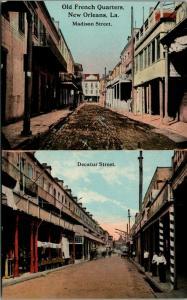 New Orleans LA~French Quarters~Madison Street~Decatur~Shops~Young Men~1908 PC