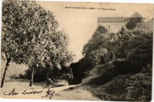 CPA Route de Roulans a LAISSEY - La Vieux Chateau (183420)