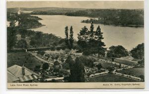 Lane Cove River Sydney Australia 1910c postcard