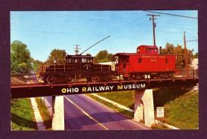 OH Penn Train Railroad Caboose WORTHINGTON OHIO PC
