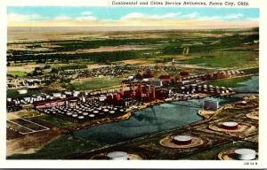 Oklahoma Ponca City Continental and Cities Service Refineries Curteich