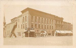 Albert Lea MN The Broadway Theatre Movie Posters Cigar Store RPPC Postcard