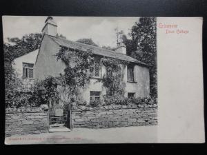 Cumbria: Grasmere, Dove Cottage c1902 UB - Pub by Stengel & Co