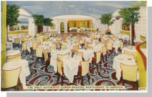 New York City, NY Postcard, Havana Madrid Cuban Restaurant At Broadway & 51st