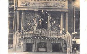 Kansas City MO Doric Theatre Entrance RPPC Real Photo Postcard