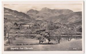 Cumbria; Langdales From Elterwater RP PPC, Unposted, c 1950's