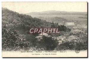 Old Postcard Saint Mihiel Panoramic Garrison