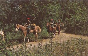 SCOUTING : Scouts riding horses , 50-60s