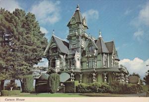 The Carson House In Eureka California