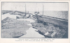 HOLLAND; Holland Scenes Inundation of Zeeland, The Holland Rusk Co., 00-10s