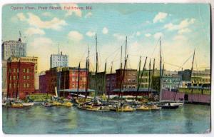 Oyster Fleet, Pratt St, Baltimore MD
