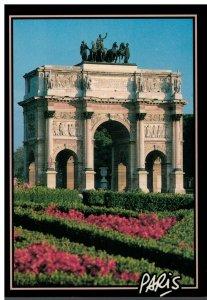 Postcard - L'Arc de Triomphe du Carroussel Paris France