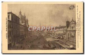 Old Postcard Nantes Musee des Beaux Arts School Italienno Canaletto Antonio d...
