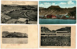 ADEN YEMEN 42 Vintage Postcards Mostly pre-1940 (Part 4)
