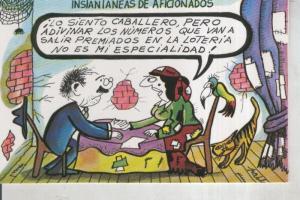Postal 011058: Loteria Nacional: Dibujos humoristicos de Pablo