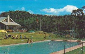 Canada Captain Morgan's Lodge Swimming Pool Vancouver Island British Col...