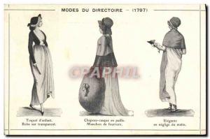Postcard Old Women Fantasy 1797 the Management Methods