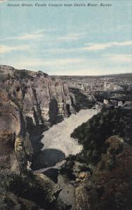 Sunset Route, Castle Canyon , DEVILS RIVER , Texas , 00-10s