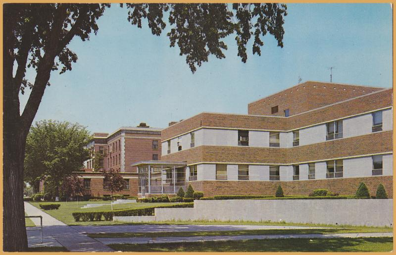 Beloit, WIS., Beloit Hospital, 1970's view