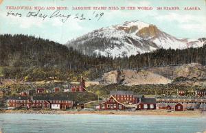 Treadwell Alaska Mill and Mine Stamp Mill Scenic Antique Postcard J80878