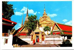 Thailand Bangkok View Of Wat Pho
