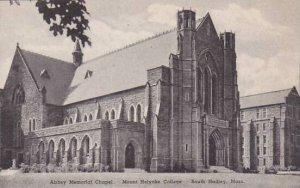 Massachusetts South Hadley Abbey Memorial Chapel Holyorke College Albertype