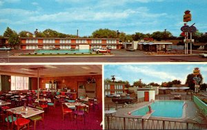 Texas Dalhart Western Skies Motor Inn & Restaurant Highway 54
