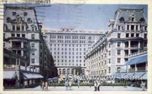 Hotel Dennis Atlantic City NJ 1950
