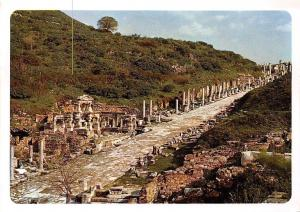 Turkey Imparator Trayan Cesmesi Reconstructed Fountain of Trajan Efes