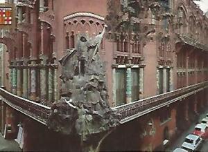 POSTAL 54867: BARCELONA. Palau de la Musica