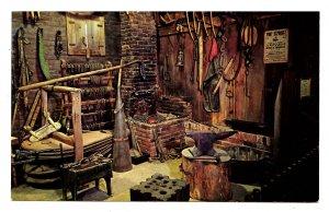MO - St. Joseph. Pony Express Stables Museum, Blacksmith Shop