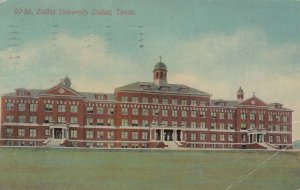 DALLAS , Texas ,1913 ; Dallas University