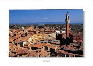 Italy Siena Veduta Panoramica di Piazza del Campo General view