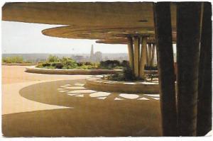 US Cincinnati, Ohio, Bellevue Hill Park Shelter. Cincinnati Skyline.