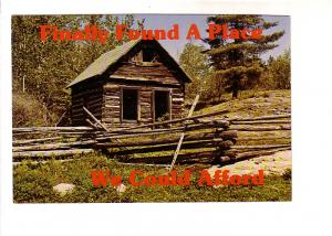 Small Log Cabin Missing Windows and Door, 'Finally Found A Place We Could Aff...
