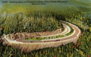 Great Smoky Mountains Nat'l Park - Clingman's Dome Parking Lot, Highest Point